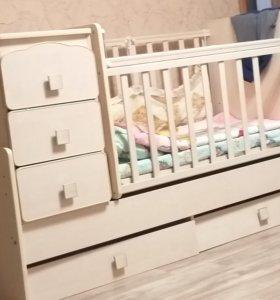 Детская кроваткп