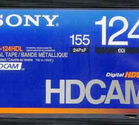 Запись Digital Betacam HDCAM XDCAM Bluray DCP DPX