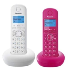 Домашний радиотелефон Panasonic на 2 трубки