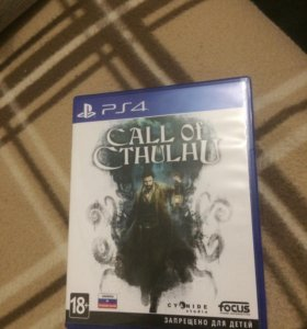 Диск Playstation 4 Call of Cthulhu ps4 игры