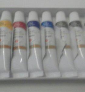 Краски масляные Сонет 8 цветов