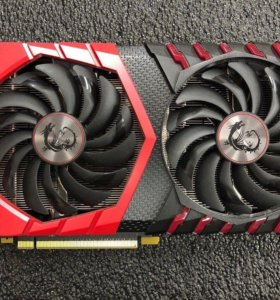 MSI GTX 1060 6Gb gaming X (на гарантии)