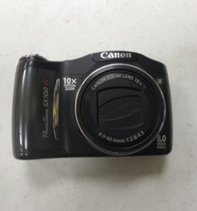Компактный фотоаппарат Canon PowerShot SX100 IS