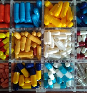 Капсулы для лекарств 500 штук