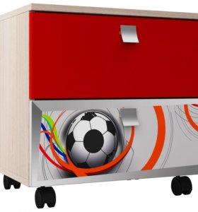 Тумба в детскую Футбол