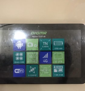 Планшет Digma Optima 1315T 4G
