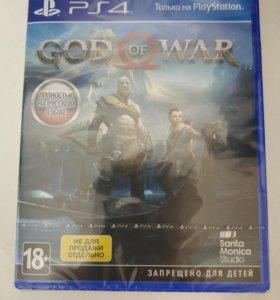 Игра ps4 God of War