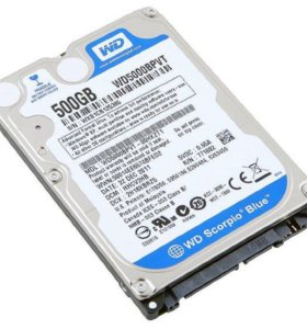 Жёсткиq диск WD 5000 bpvt для ноутбука