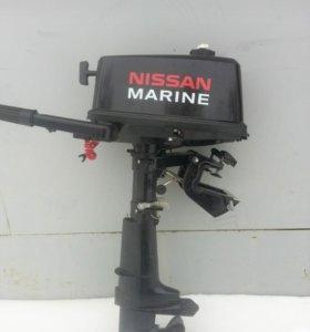 Лодочный мотор Nissan Marine 5 л.с.