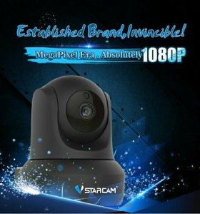Wifi ip поворотная видеокамера full hd 1080