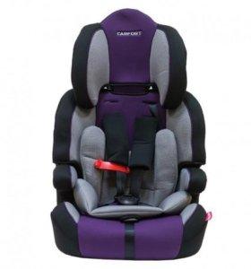 Кресло детское Carfort KID 02, синие, 9-36 кг