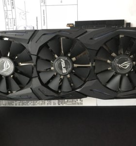 Видеокарта asus GeForce gtx 1060 strix 6gb