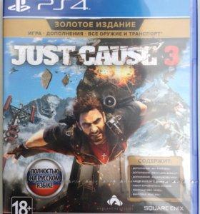 Just Cause 3 - Золотое Издание для PS4 (новый)