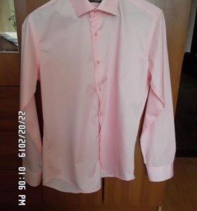 Муж. рубашка М (48-50) бренд ARBIATTI c галстуком