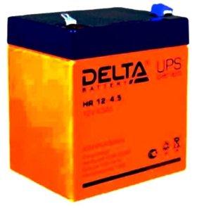 Гелиевый аккумулятор 12 v 4.5 ah DELTA DTM12045