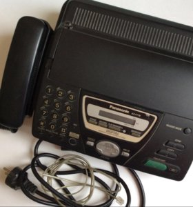 Телефон-факс Panasonic KX-FT78, б/у