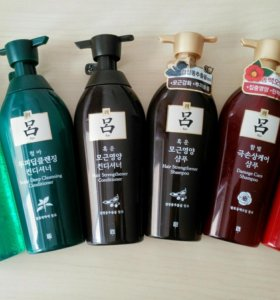 Корейский шампунь, кондиционер Ryo 500 мл CP-1