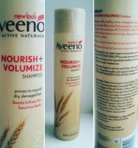 Aveeno, шампунь, Nourish+, Volumize Shampo