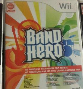 Band hero лицензионная игра для Nintendo wii