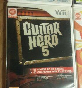Guitar hero 5 Лицензионная игра для нинтендо ВИИ