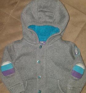 Куртка-кардиган на мальчика
