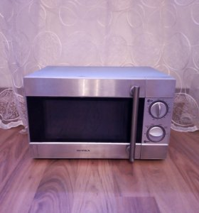 Рабочая микроволновая печь Supra.