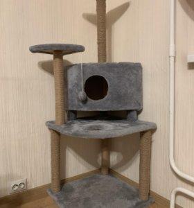 Игровой комплекс (домик) для кошек 55х55х140