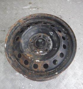 Диск колесный стальной, Диски-R16 5Х112