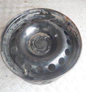 Диск колесный стальной, Диски-R16 4Х108