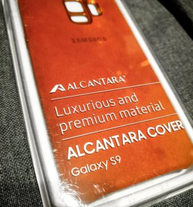 Чехол Alcantara Cover для Samsung Galaxy S9