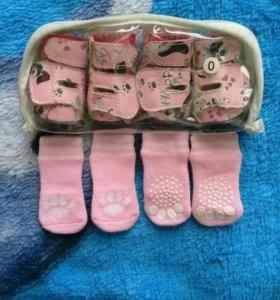 Ботиночки+носочки