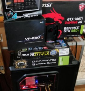 Мега монстр I7 3770 Msi 980ti gaming, 16gb DDR3