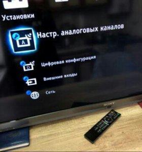 LED телевизор 55'' Sony Bravia KDL-55EX