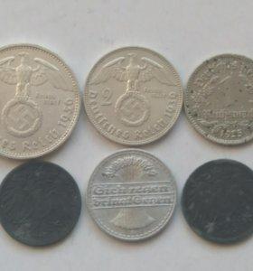 Набор монет Германии