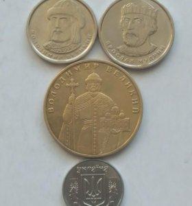 Набор монет Украины.