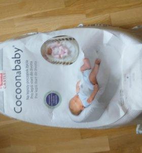 Кокон cocoonababy матрас для кроватки
