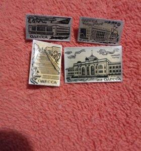 Значки с г.Одесса обмен