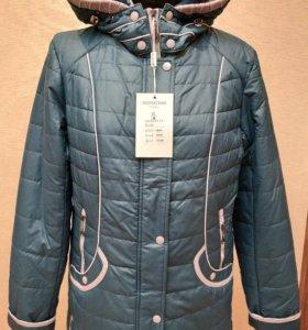 Куртка Весна р48-50 Морская волна Новая