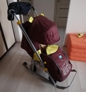 Санки-коляски Nika 7
