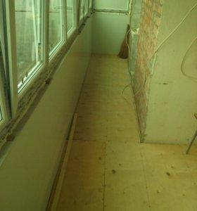 отделка балконов и лоджии