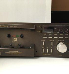 Дека кассетная Grundig MCF 500