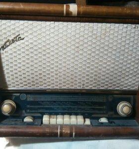 Радиола ламповая. Комета 1960 г.
