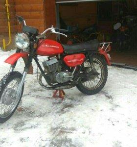 Мотоцикл Минск 3.112, 1987