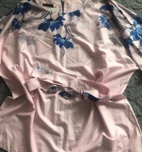 Блуза новая 54/56 летучая мышь