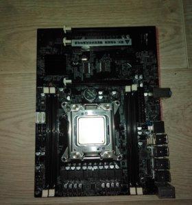 Комплект - мат. Плата lga 2011, процесор i7 4820k