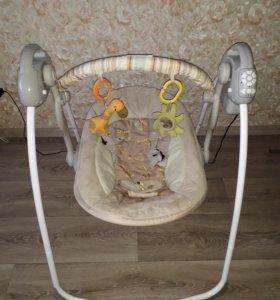 Качели напольные baby care