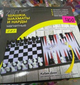 Новая настольная игра Шашки шахматы нарды