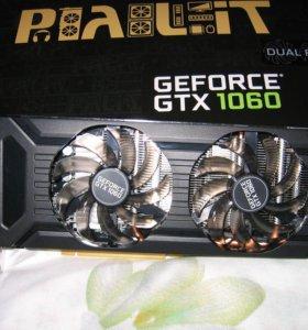 Palit geforce 1060 dual 3Гб или обмен на ноутбук