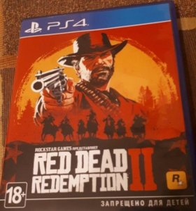 Red dead redemption 2 ps4 игра