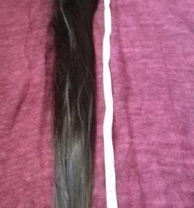 Продам волос на заколках 75 см натуральные (еврп)